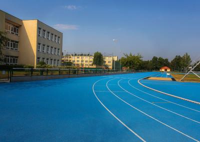 Boisko lekkoatletyczne przy Liceum Ogólnokształcącym w Puszczykowie