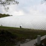 Wrocławskie boisko pod balonem przygotowane do World Games 2017