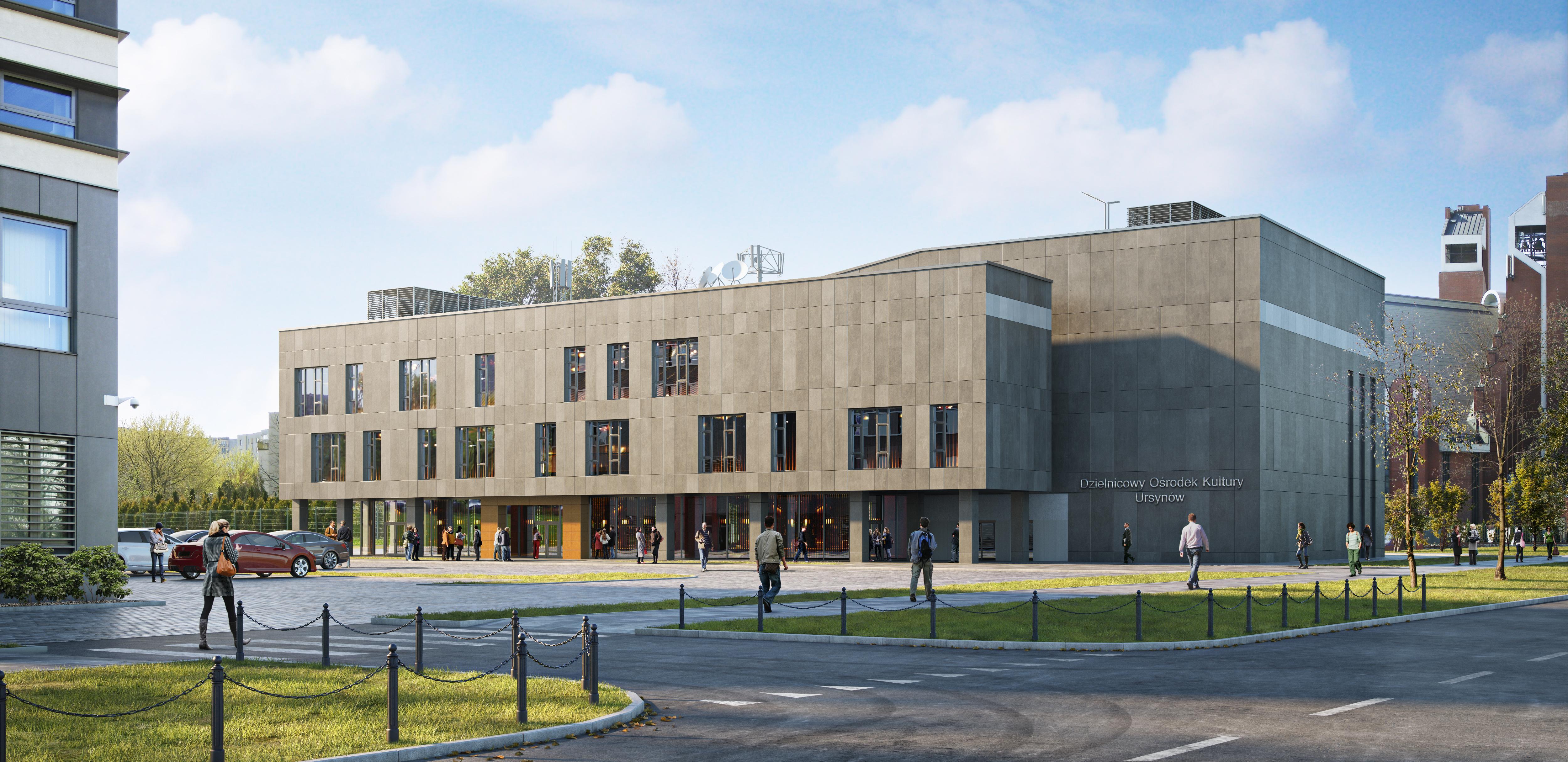 9f07f60e Wybudujemy Dzielnicowe Centrum Kultury na warszawskim Ursynowie ...