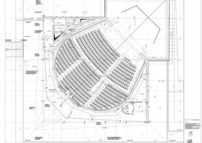 II  etap modernizacji Centrum Sztuki Mościce – sala widowiskowa