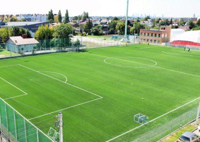 Boisko piłkarskie wraz z infrastrukturą towarzyszącą na terenie MOSiR w Ząbkach