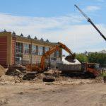 Budowa basenu przy Zespole Szkół na os. Piaski w Legionowie przebiega zgodnie z planem.