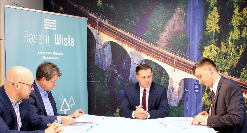 """rewitalizacja parku kąpielowego w Wiśle"""""""