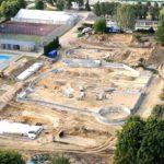 Park Wodny Moczydło – wizyta na budowie