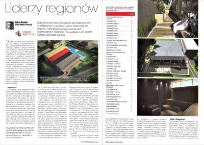 Liderzy regionów - ranking sportowa Polska str 1.