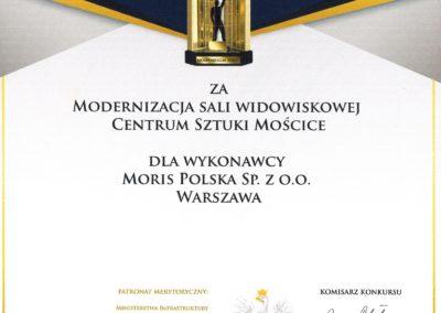 Modernizacja Roku 2018 - dyplom