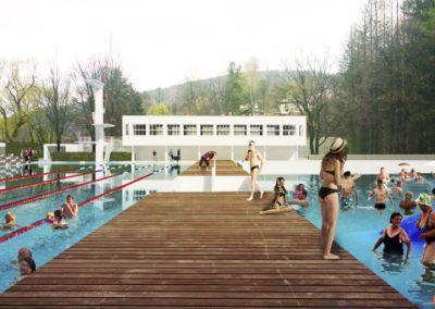 Inteligentne Baseny – rewitalizacja parku kąpielowego w Wiśle